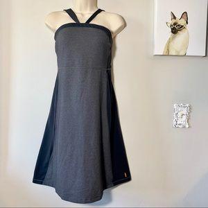Lucy Hatha Convertible Gray Yoga Dress